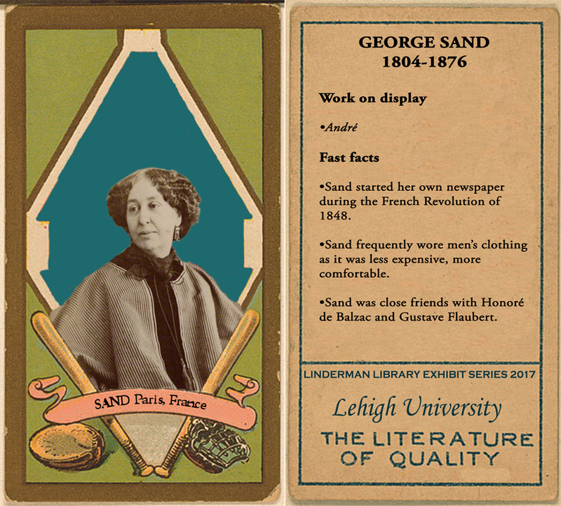 George Sand Baseball Card
