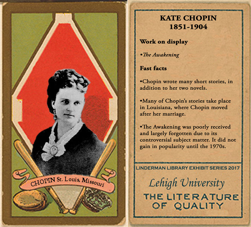 Kate Chopin Baseball Card