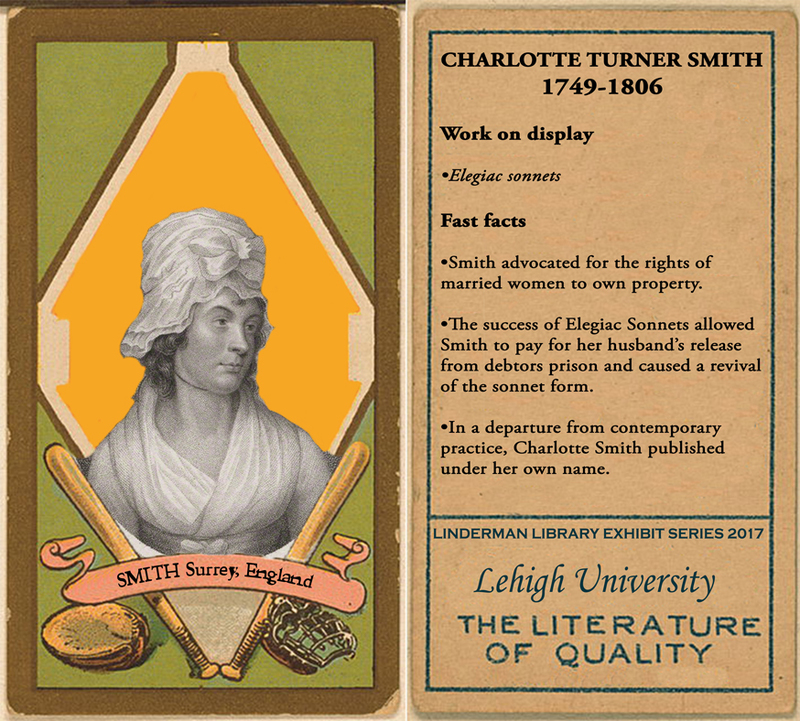 Charlotte Turner Smith Baseball Card