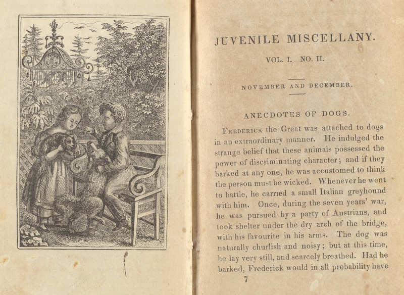 The Juvenile Miscellany- Illustration