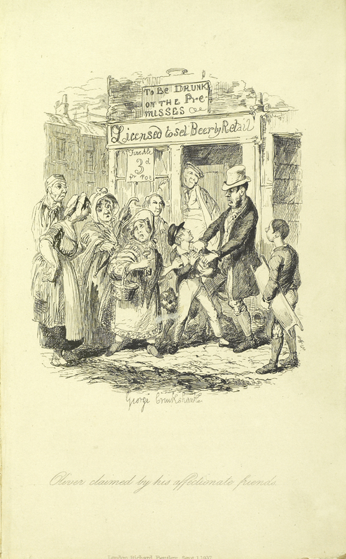 Oliver Twist, Friends