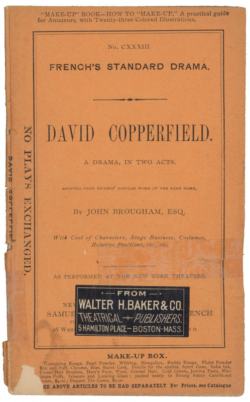 david copperfield play
