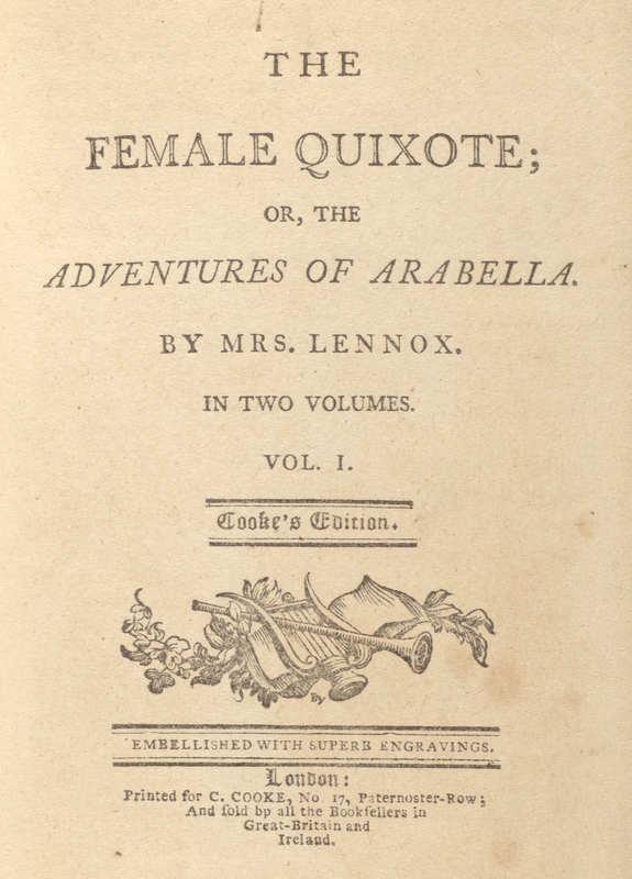 The Female Quixote- Title