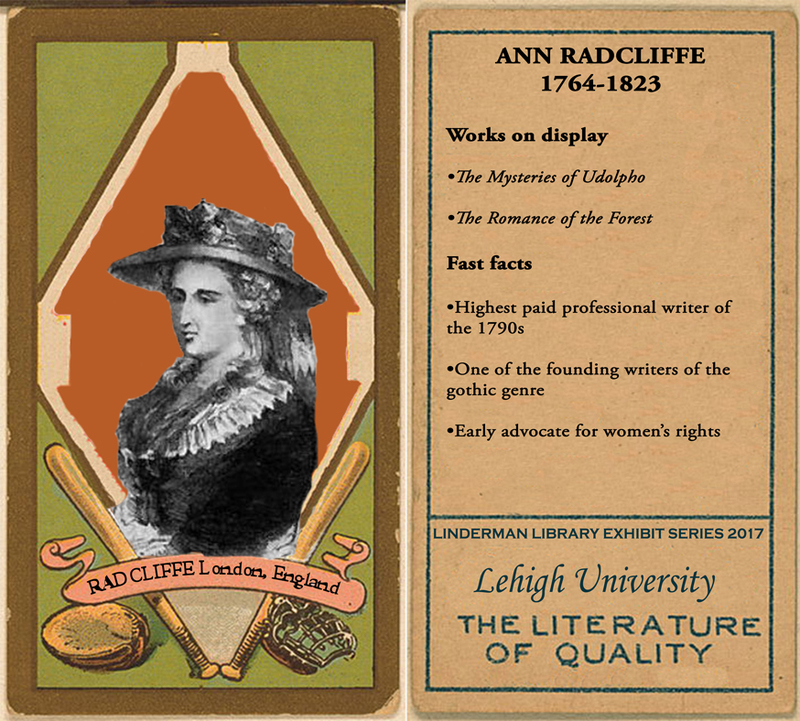 Ann Radcliffe Baseball Card
