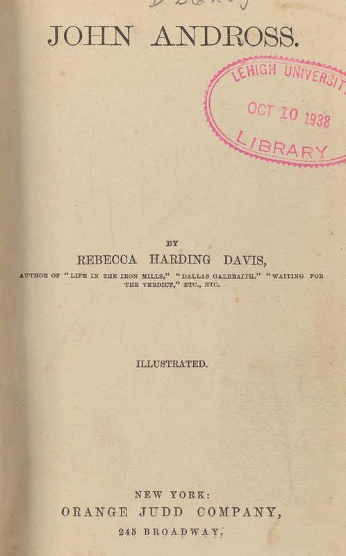John Andross- Title