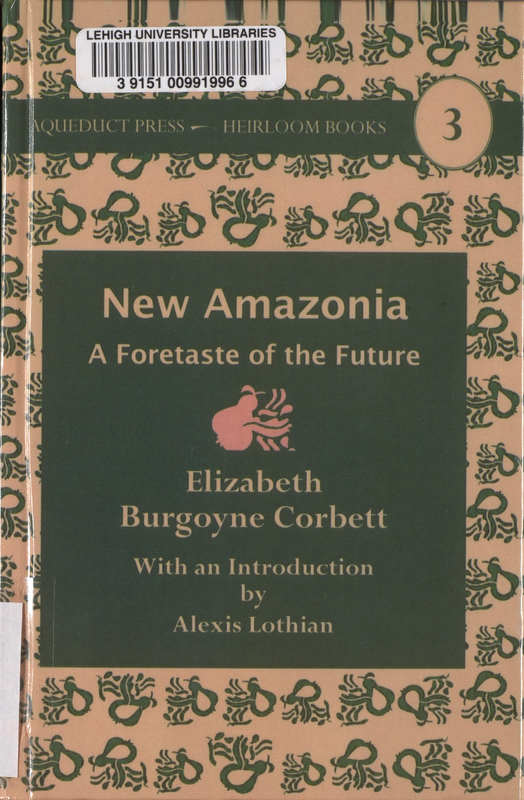 New Amazonia: A Foretaste of the Future- Cover