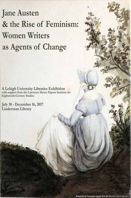 Jane Austen Exhibit Poster