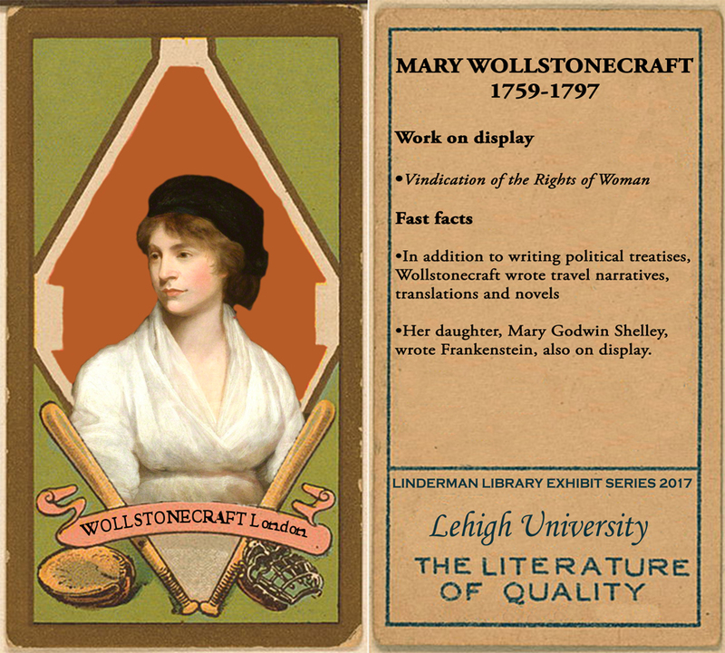 Mary Wollstonecraft Baseball Card
