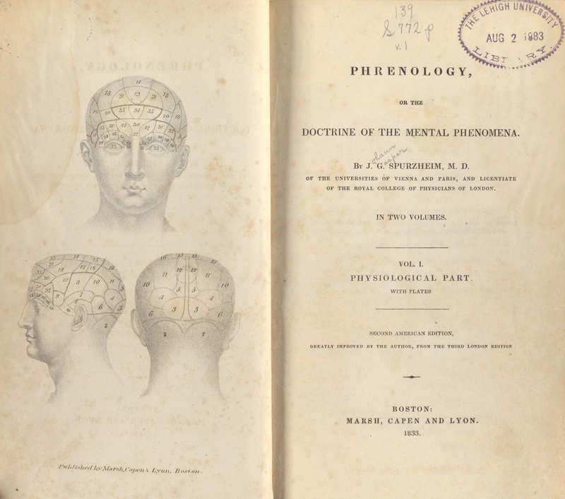 Phrenology, or The Doctrine of the Mental Phenomena