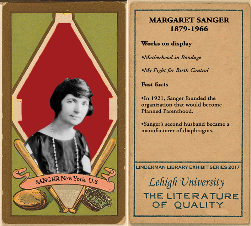 Margaret Sanger Baseball Card