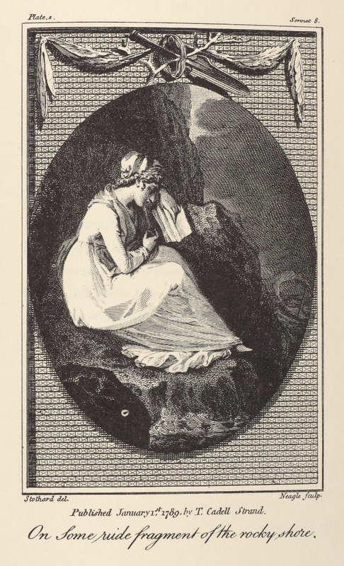 Elegiac sonnets, 1789- Plate 2
