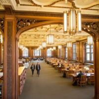 1st Floor Grand Reading Room Overhead