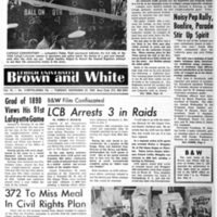 Engineers, Pards battle to Tie; 100th Contest Ends in Deadlock, 100th Game Stalemate Breeds Excitement (Brown and White Vol. 76 no. 18)
