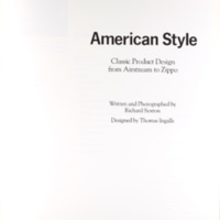 American Style: Classic Product Design from Airstream to Zippo