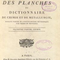 Encyclopédie méthodique: chymie, pharmacie et métallurgie<br />