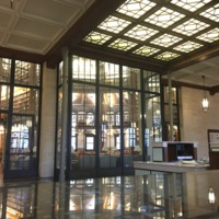 1st Floor Grand Reading Room Glass Wall