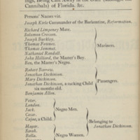 Jonathan Dickinson's Journal: or, God's Protecting Providence. Being the Narrative of a Journey from Port Royal in Jamaica to Philadelphia Between August 23, 1696 and April 1, 1697