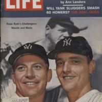 Life Magazine - Mickey Mantle & Roger Maris.