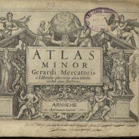 Atlas minor Gerardi Mercatoris