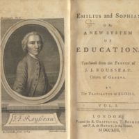 Emilius and Sophia; or, A new system of education.