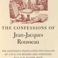 Confessions; the anonymous translation into English of 1783 & 1790