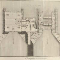 Volume 2, Carpentry (Charpenterie) Plate XXXVI: Pump of Notre Dame Bridge