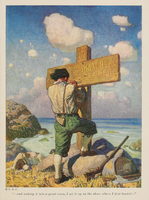 Robinson Crusoe. Pictures by N.C. Wyeth