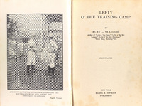 Lefty O'the Training Camp.