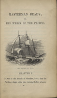 Masterman Ready: or, the Wreck of the Pacific: Written for Young People