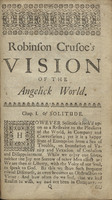 The Life and Most Surprizing Adventures of Robinson Crusoe, of York, Mariner: Who Lived Eight and Twenty Years in an Uninhabited Island on the Coast of America, Lying near the Mouth of the Great River of Oroonoque: Having Been Cast on Shore by Shipwreck, wherein all the Men were Drowned but Himself: as also a Relation How he was Wonderfully Deliver'd by Pyrates