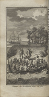 La vie et les avantures surprenantes de Robinson Crusoe, contenant entre autres ?venemens, le s?jour qu'il a fait pendant vingt & huit ans dans une isle d?serte, situ?e sur la cote de l'Amerique, pr?s de l'embouchure de la grande riviere Oroonoque
